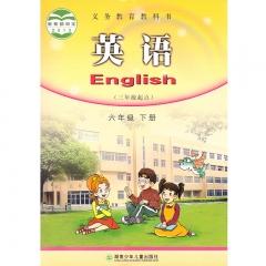 21春 英语六年级下册 湖南少年儿童出版社 新华书店正版图书(限购3本)