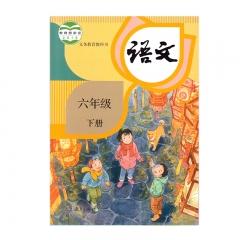 21春 语文六年级下册人民教育出版社新华书店正版图书