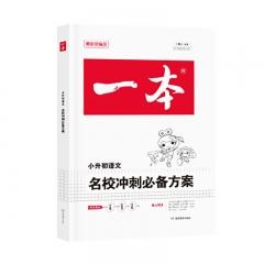 一本名校冲刺方案语文 湖南教育出版社广东开心教育