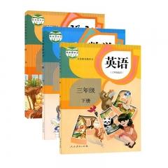 JC三年级下册语数英 新华书店正版图书义务教育教科书