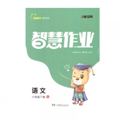 智慧作业语文六年级下册RJ新华书店正版图书