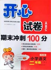 21春 开心试卷ABC.小学语文二年级.下:RJ版 新华书店正版图书